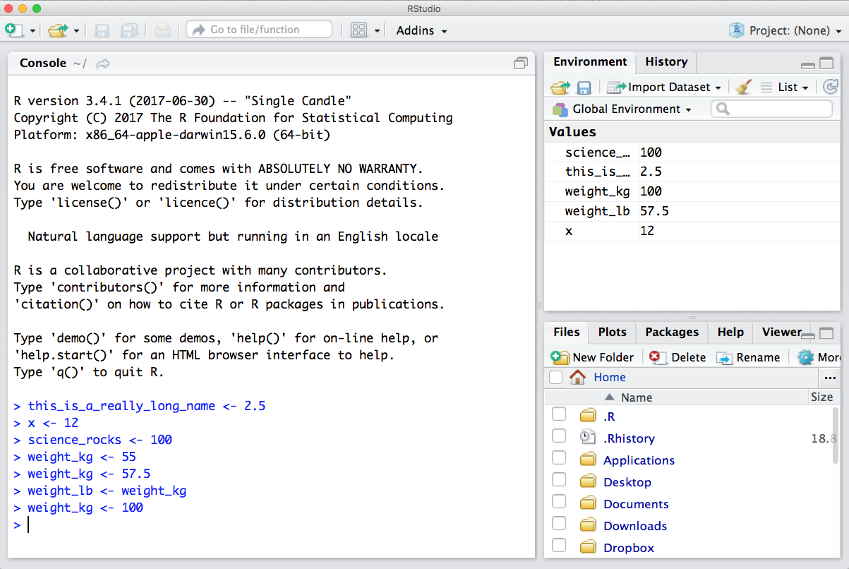 Chapter 3 R & RStudio, RMarkdown | Introduction to Open Data